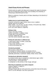 how to write a good argumentative essay logical structure useful argumentative essay words and phrases by englishbites via slideshare