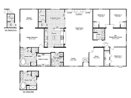 the evolution wd 76x3 standard floor plan 3 116 sq ft palm