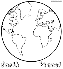 Small Picture Planet Earth Coloring Page Printable At diaetme