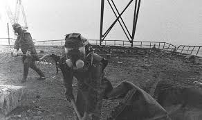 the chernobyl disaster years later best of web shrine tall man the most dangerous operation was the plants roof clean up
