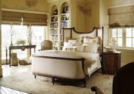excellent master bedroom decors with custom built in bookshelf in