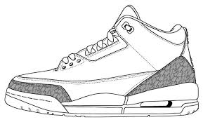 Sneaker Coloring Page Printable Inspirational Exclusive Printable