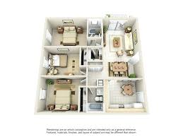 3 Bedroom Apartments Miami Luxury For In The Area