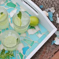 Serving Tray Decoration Ideas Favorite Handmade Tray Projects 100 Easy DIY Serving Trays 34