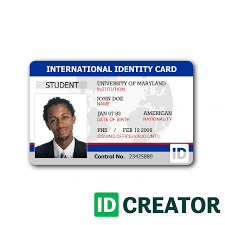 front of id card ideny card 236