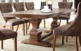 rustic dining room chairs sale. wonderful rectangle solid wood dining table have 8 chairs that 2 candles lamp on the top above floor with small carpet rustic room sale a