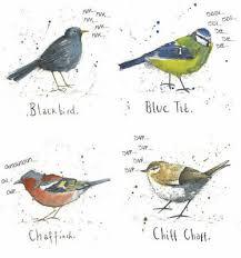 British Garden Birds Chart Large A3 British Garden Bird Poster Chart Nature Wildlife