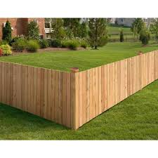 2 ft x 8 ft western red cedar privacy