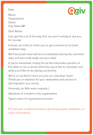 Letter A Template 9 Awesome And Effective Fundraising Letter Templates