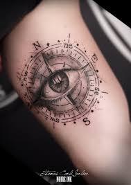 пин от пользователя Lvivskytop на доске Clock Compass Tattoo