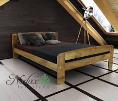 Bed Frames : King Size Wooden Frame Frames Sleigh Sizes Solid Double ...