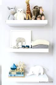 baby nursery wall shelves for baby nursery chic expedite girl room white bookshelves inside shelf