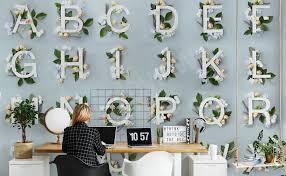 Fototapeten Alphabet Größe Der Wand Myloviewde