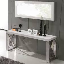 sofa hall table. Furniture:Small Console Mirrored Entry Table Furniture Modern Hall Acrylic Sofa N
