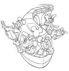 You could also print the picture using the print button above the image. Walt Disney World Coloring Pages The Disney Nerds Podcast