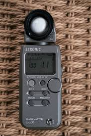 Used Sekonic L 358 Light Meter Sold Sekonic L 358 Meter With Pocketwizard Transmitter