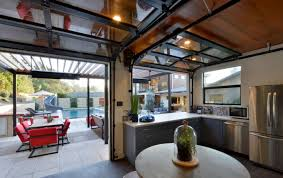 indoor outdoor kitchen