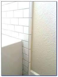 glass edge trim bathtub edge trim tile around luxury quarter round glass edging ideas brushed nickel