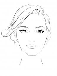 Sephora Face Chart Lily Qian Illustrator Nyc Beauty Illustrations Isabel