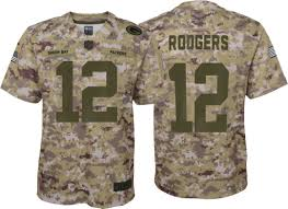 Bay Packers Green Jersey Camouflage