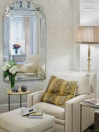 Sitting Area In Bedroom Master Bedroom Mirrored Furniture Ideas Home Design Intended For