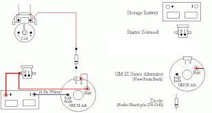 wiring diagram for wire gm alternator the wiring diagram install a gm 3 wire alternator on an r1 avanti wiring diagram
