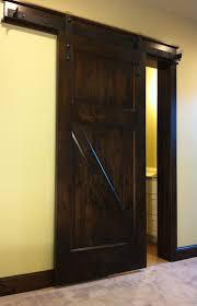 rustic barn door pulls home