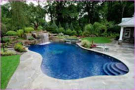 Nice Backyard Pool And Landscaping Ideas Backyard Privacy Pool Landscaping  Ideas Pictures Home Design Ideas