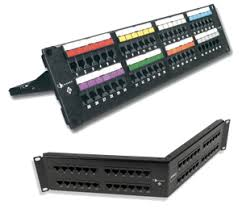 network patch panels category e a and modular patching category 6 patch panels
