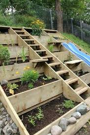 building a vegetable garden on a slope slope garden backyard vegetable garden on a slope