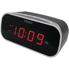 home electric clocks plug in timex digital loud electric alarm clock black t121b