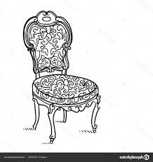 Stock Illustration Cartoon Vector Vintage Chair Soidergi
