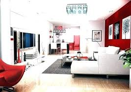decorating red walls dining room living designs ideas ultimate home modern with and furniture red painted walls