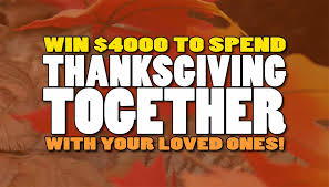 win 4k with thanksgiving together