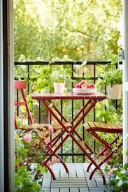 adorable small balcony perfect for breakfast ikea mlar table 2 chairs balcony furnished small foldable