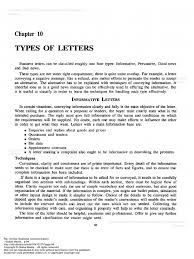 Types Of Business Letters Fair Use All Rights Reserved