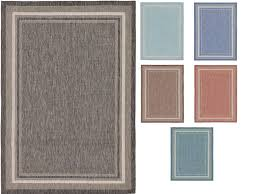 details about modern thin plain outdoor area rug contemporary border carper small lrage