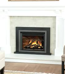 wood and gas fireplace insert gas fireplace inserts converting a wood burning fireplace to gas insert