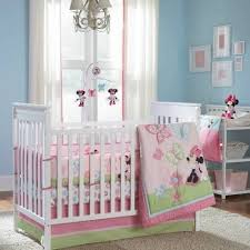minnie mouse nursery baby bedding sets