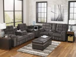 Living Room Ashley Furniture Leather Sofa Living Rooms