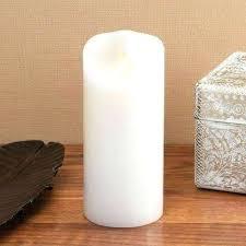 white luminara candles h white pillar candle with timer white outdoor luminara candles