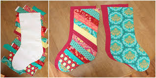 Quilted Christmas Stocking Pattern Unique Christmas Stocking Tutorial Diary Of A Quilter A Quilt Blog