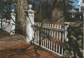 metal fence styles. White Metal Fence And Opening Styles