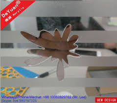 private wall decoration mirror acrylic sheet plexiglass customized images