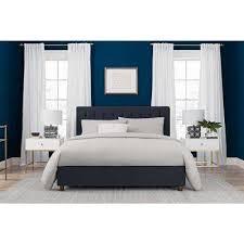 navy blue bedroom furniture. Modren Furniture Emily Blue Upholstered Linen Full Size Bed Frame To Navy Bedroom Furniture B