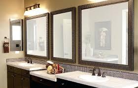 white bathroom vanity mirrors. White Frame Bathroom Mirror Framed Vanity Mirrors Ideas Medium Size F