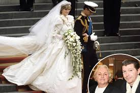 David Wedding Dress Designer Princess Dianas Wedding Dress Designer David Emanuel Finds