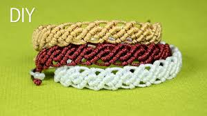 Macrame Bracelet Patterns Stunning This Tutorial Shows How To Make An Easy Wavy Macrame Bracelets For