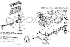 4th gen lt1 f body tech aids drawings exploded views engine oil cooler exploded view