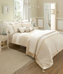 catherine lansfield classique bedding range cream free delivery over 30 on all uk orders